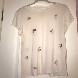 American eagle soft and sexy floral tee